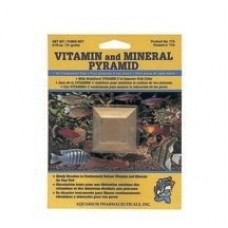 API Vitamin/Mineral pyramid Card