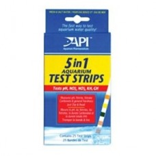 API 5 IN 1 Test Strips 25 Count
