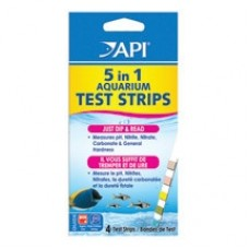API 5 in 1 Test Strips 4 Count