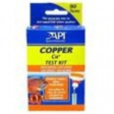 Aquarium Pharm Salt/Fresh Test Kit for Copper