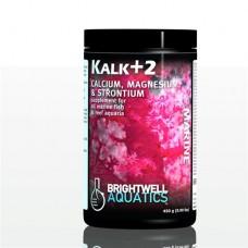 Brightwell Kalk+2 - Kalkwasser Supplement W/Calc,Stron,Mag. 450 GM