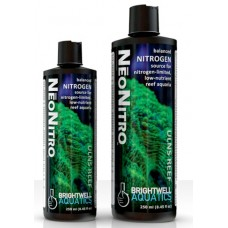Brightwell NeoNitro - Balanced Nitrogen Supplement for Ultra-Low Nutrient Reef Aquarium Systems 250 ML