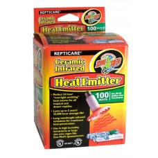 Ceramic Heat Emitter (30-40 Gal) 100W   UL Listed