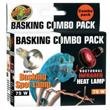 Basking Day & Night Lamps 75W - Combo Pack