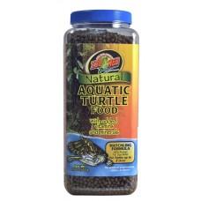 Natural Aquatic Turtle Food - Hatchling Formula 15 OZ